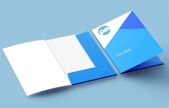 Брендированные и фирменные папки с логотипом