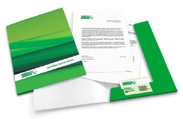 Папки с дизайном и лого