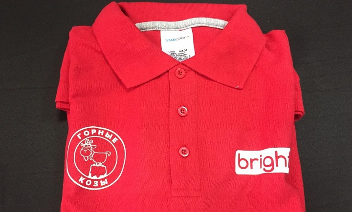 Футболки и рубашки поло с нанесение логотипа