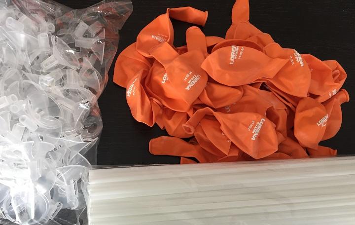 Печать на воздушных шарах с доставкой