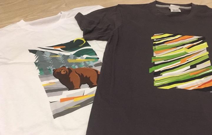 Печать полноцветная на футболках