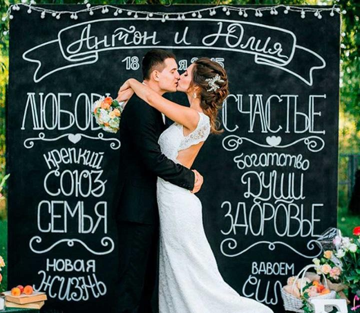 Баннер для бракосочетания и на свадьбу срочно