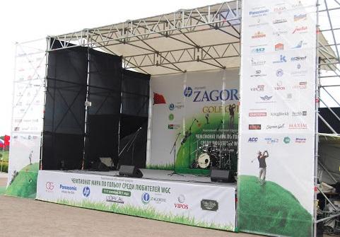 Изготовление декораций для сцены и концерта