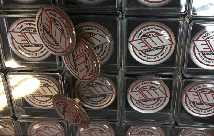 Значки с горячей эмалью на заказ