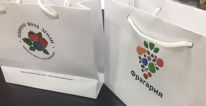 Печать логотипов на пакетах срочно