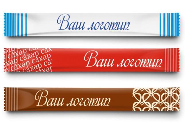 Фирменный сахар в стиках 5гр с логотипом