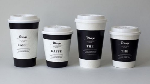 Кофейные стаканчики с логотипом