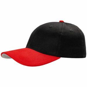 Бейсболка Ben Loyal, черная с красным