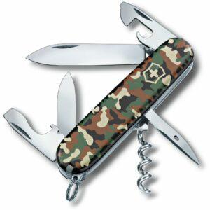 Офицерский нож Spartan 91, зеленый камуфляж