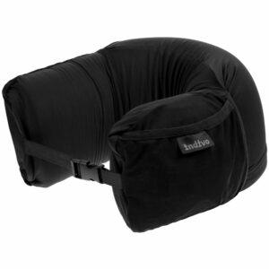 Дорожная подушка supSleep, черная