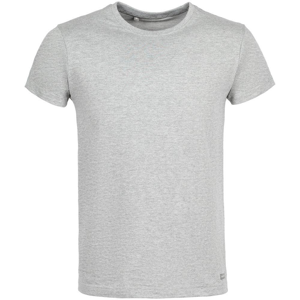 Футболка Firm Wear, серый меланж