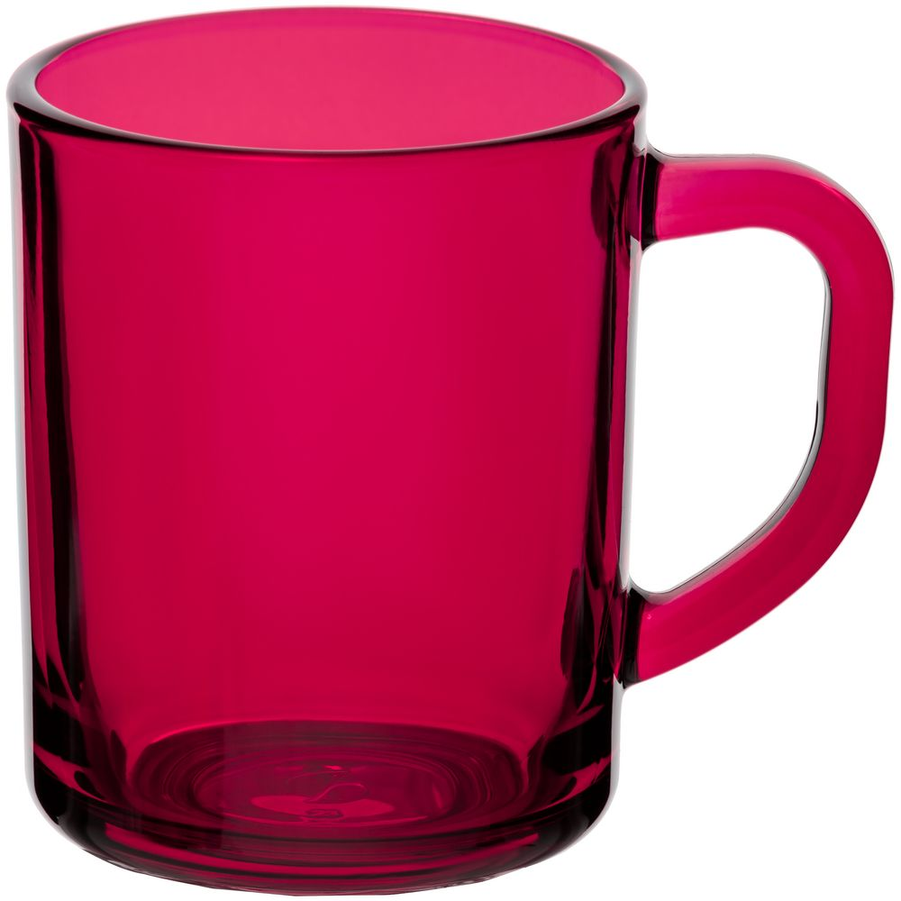 Кружка Enjoy, ярко-розовая (фуксия)