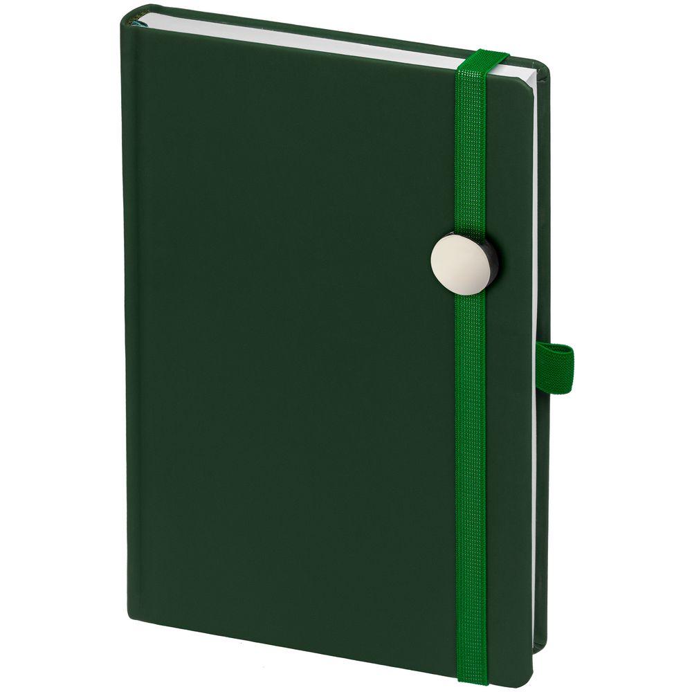 Ежедневник Favor Metal, недатированный, зеленый