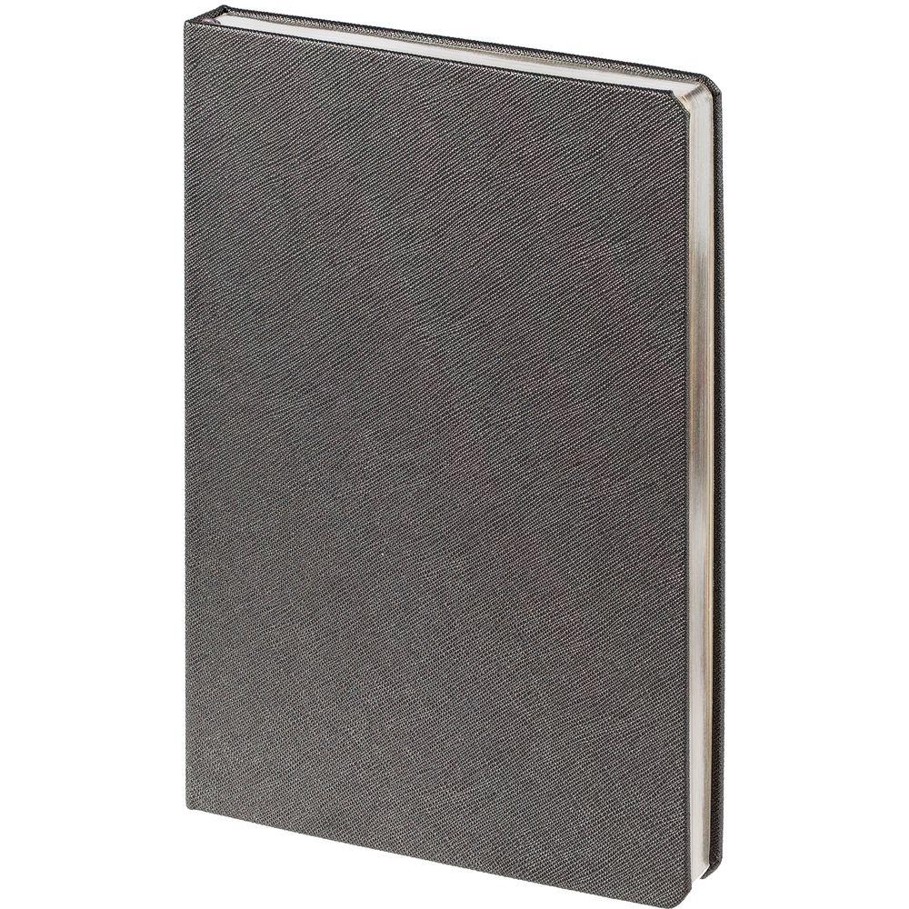 Ежедневник Saffian, недатированный, серый