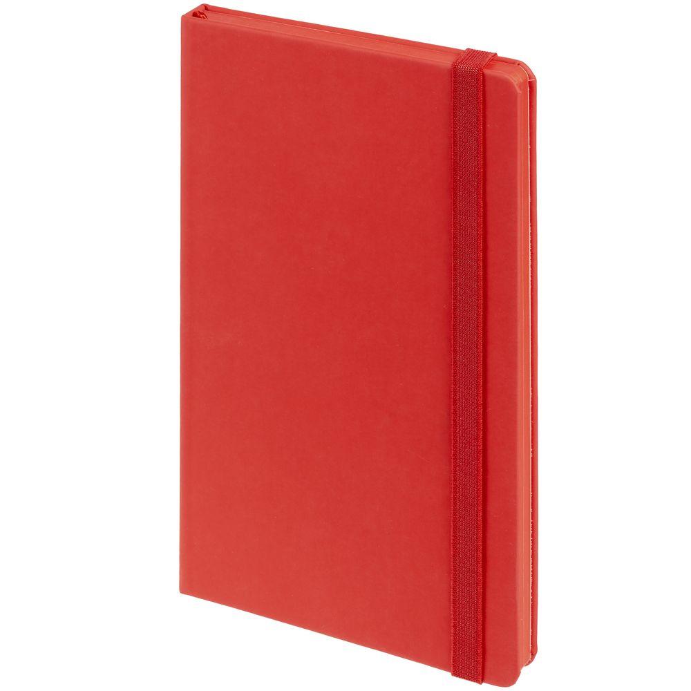 Блокнот Shall, красный