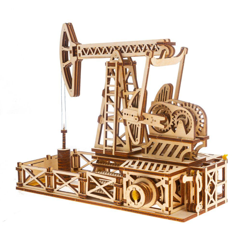 Механический конструктор «Нефтяная качалка»