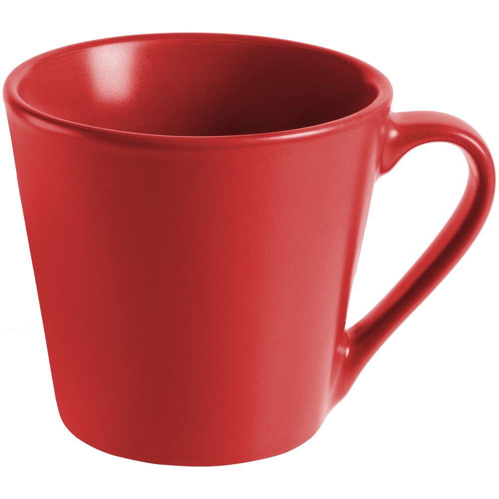 Кружка Modern Bell матовая, красная
