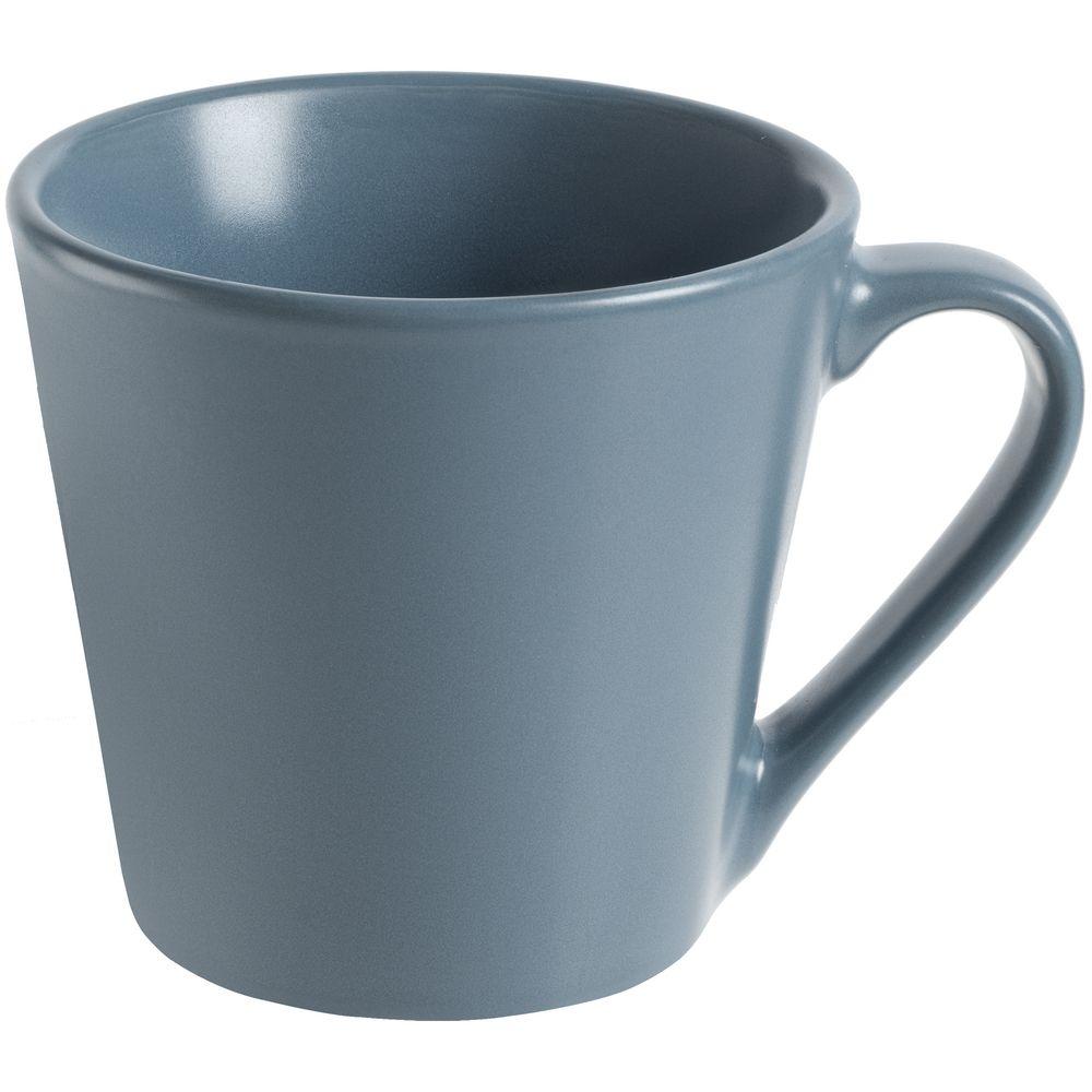 Кружка Modern Bell, матовая, серо-синяя