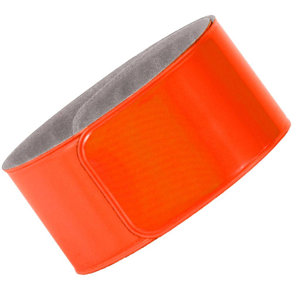 Светоотражающий браслет Lumi, оранжевый неон