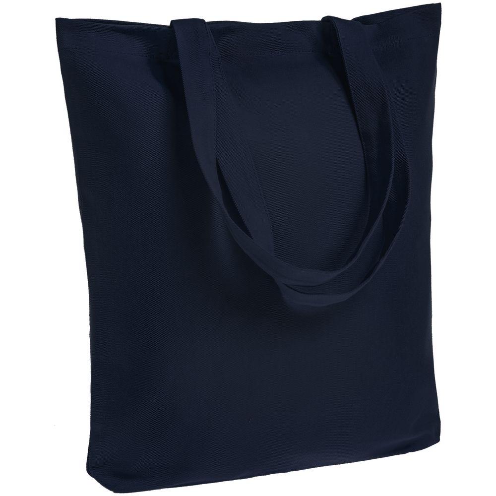 Холщовая сумка Avoska, темно-синяя