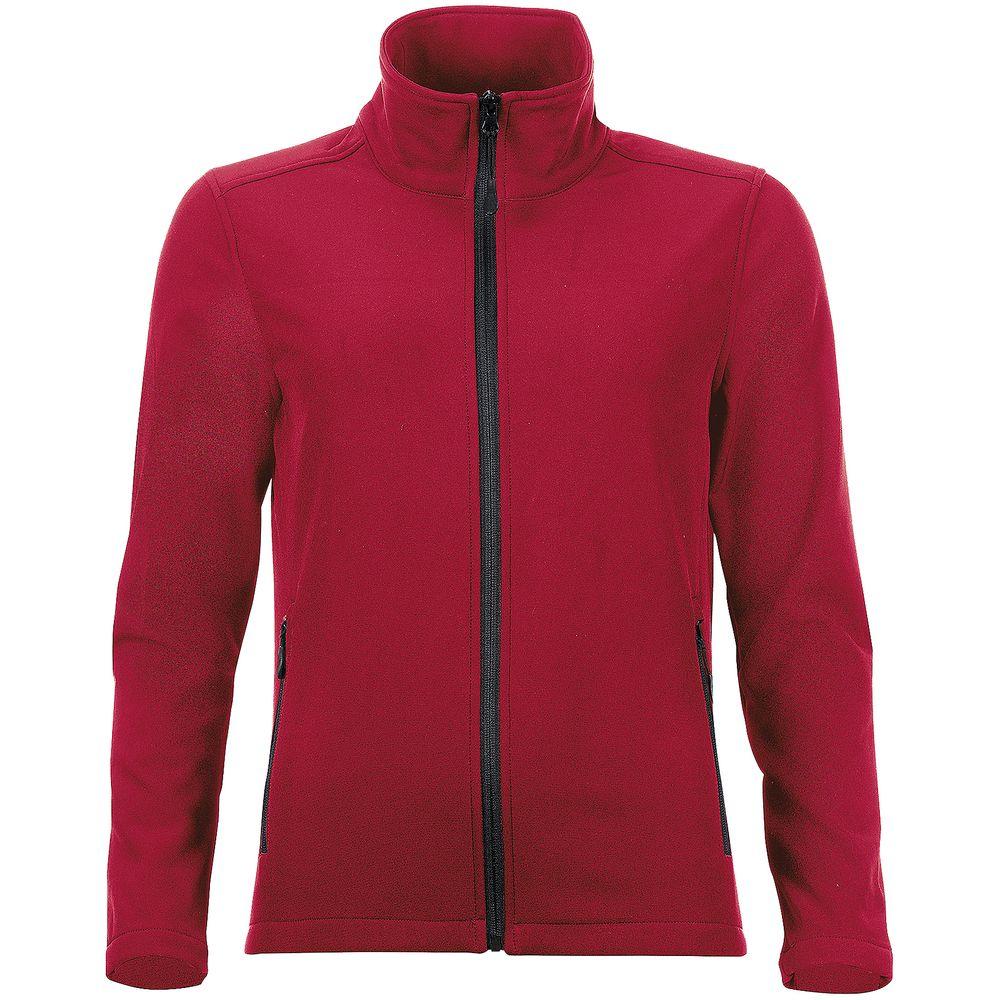 Куртка софтшелл женская RACE WOMEN красная