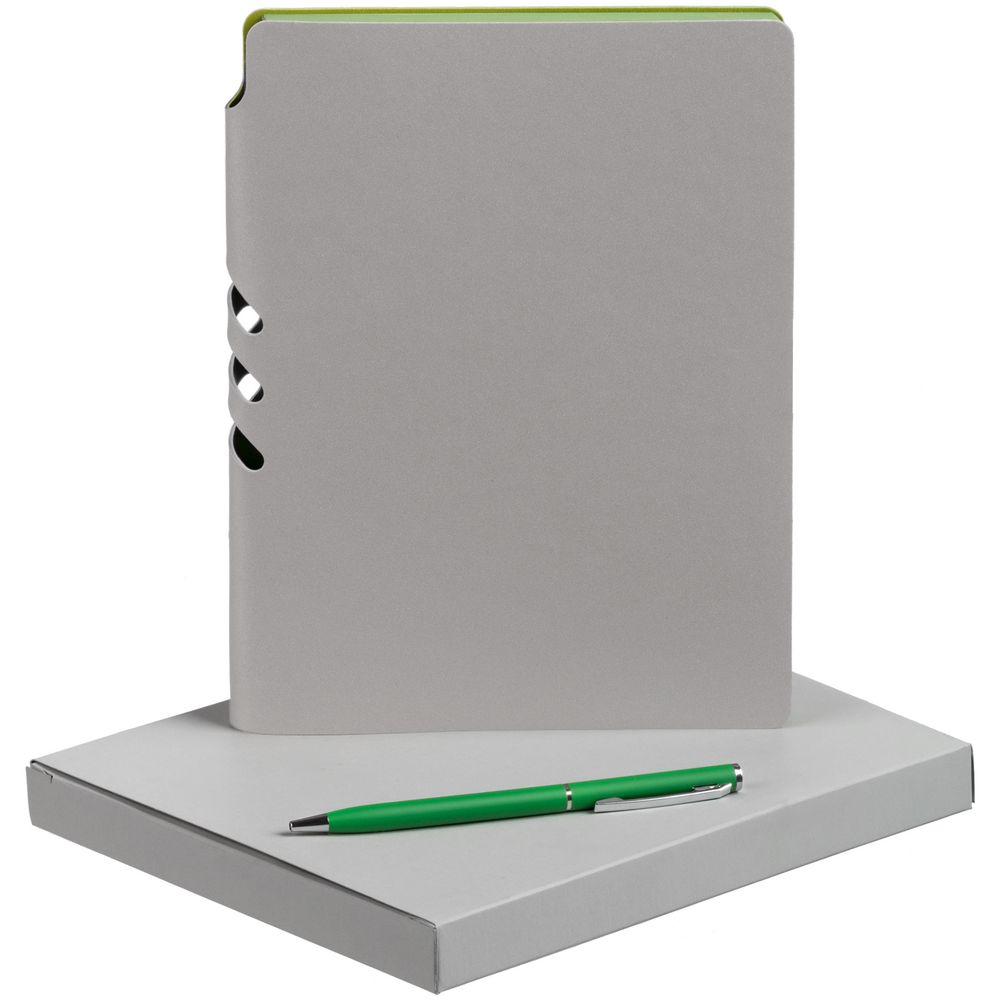 Набор Flexpen, серебристо-зеленый