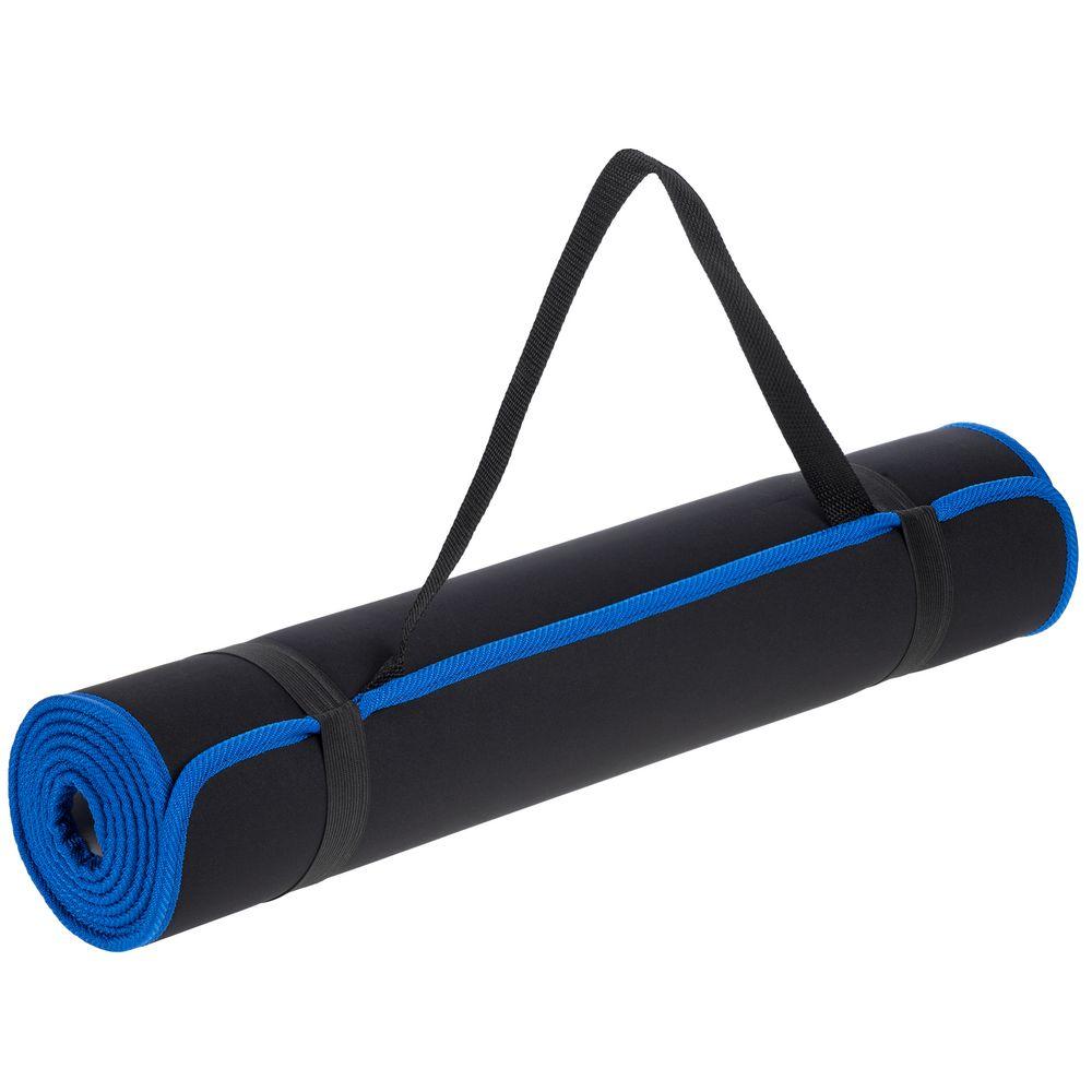 Коврик для йоги и активного отдыха Karmatta, черно-синий