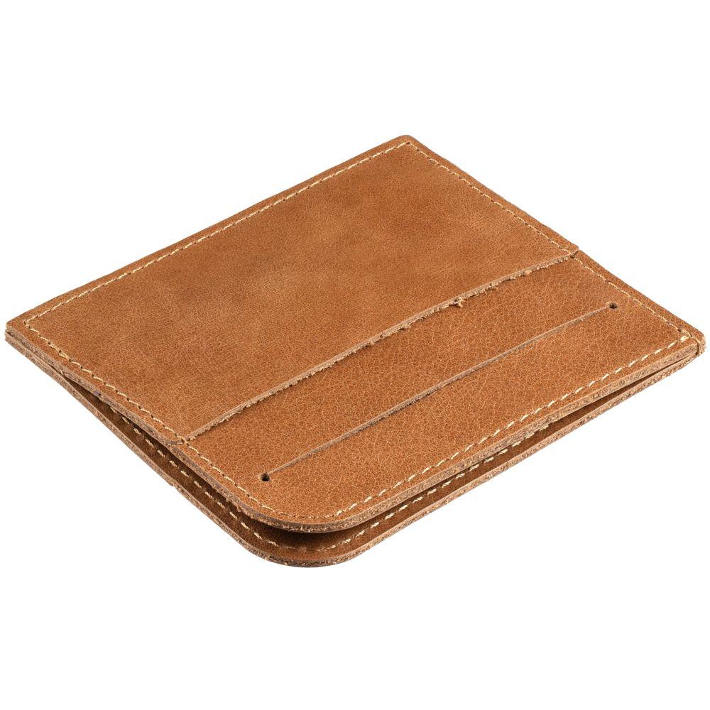 Чехол для карточек Apache, светло-коричневый