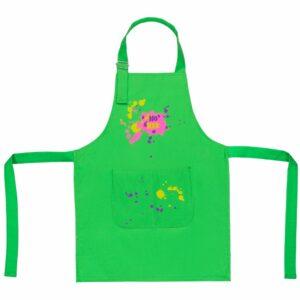 Фартук детский «Пятно Maker», зеленое яблоко
