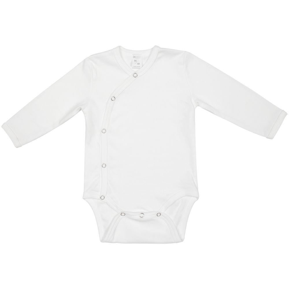 Боди детское Baby Prime, молочно-белое