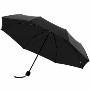 Зонт складной с защитой от УФ-лучей Sunbrella, черный