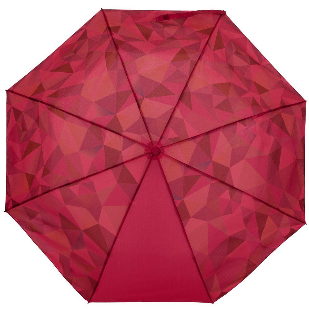 Складной зонт Gems, красный