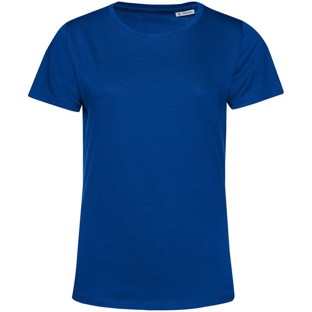 Футболка женская E150 Organic, ярко-синяя