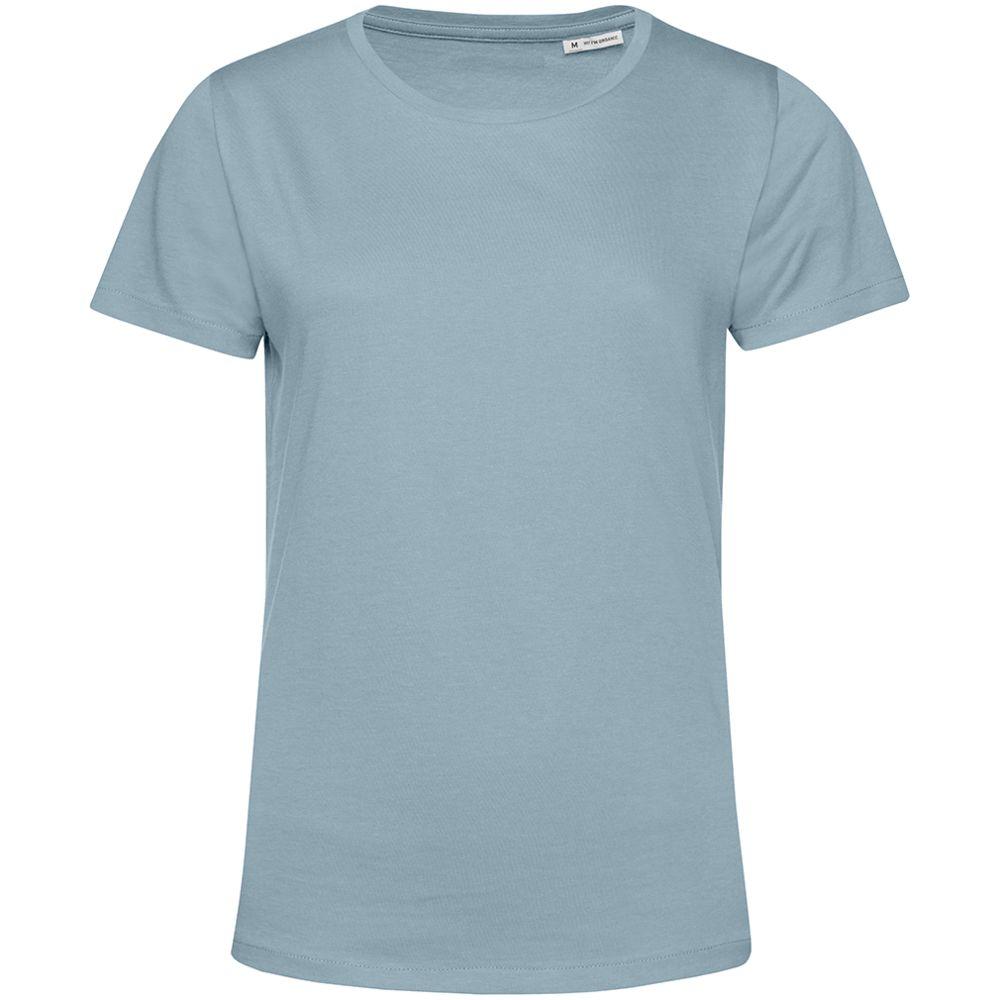 Футболка женская E150 Organic, серо-голубая