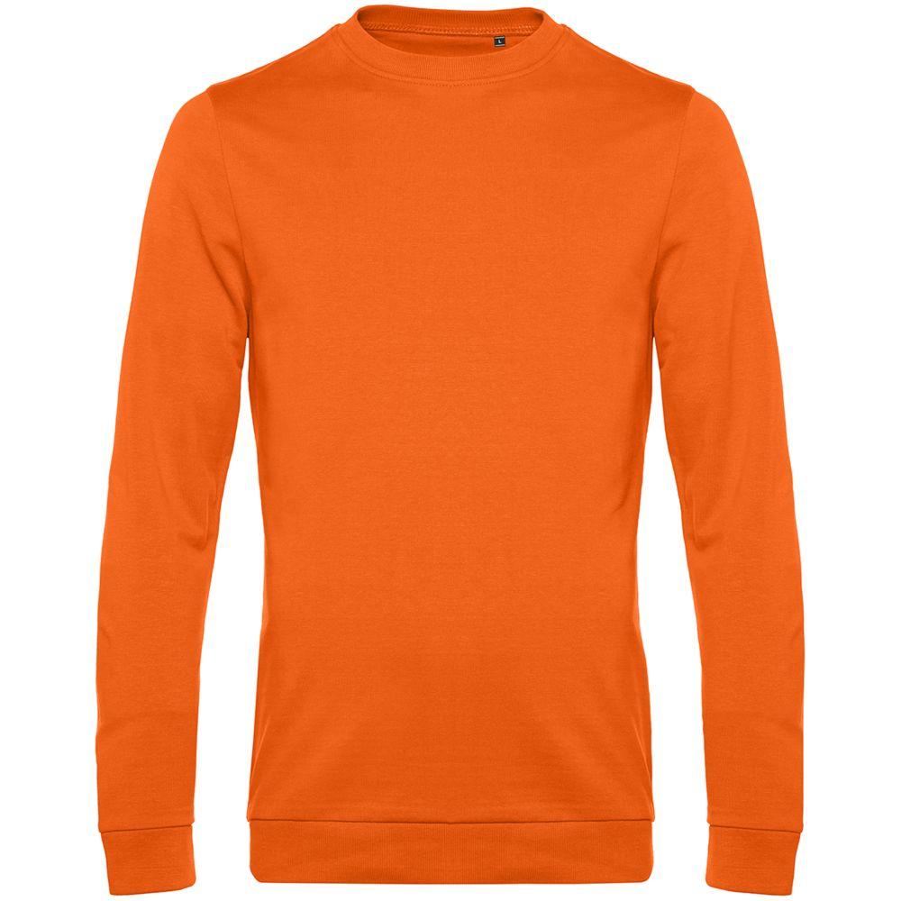 Свитшот унисекс Set In, оранжевый