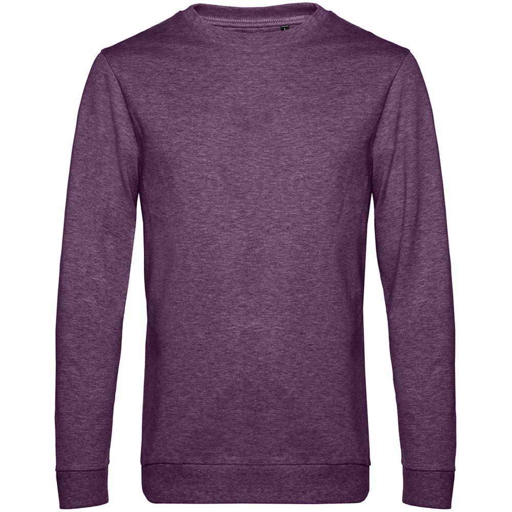 Свитшот унисекс Set In, фиолетовый меланж
