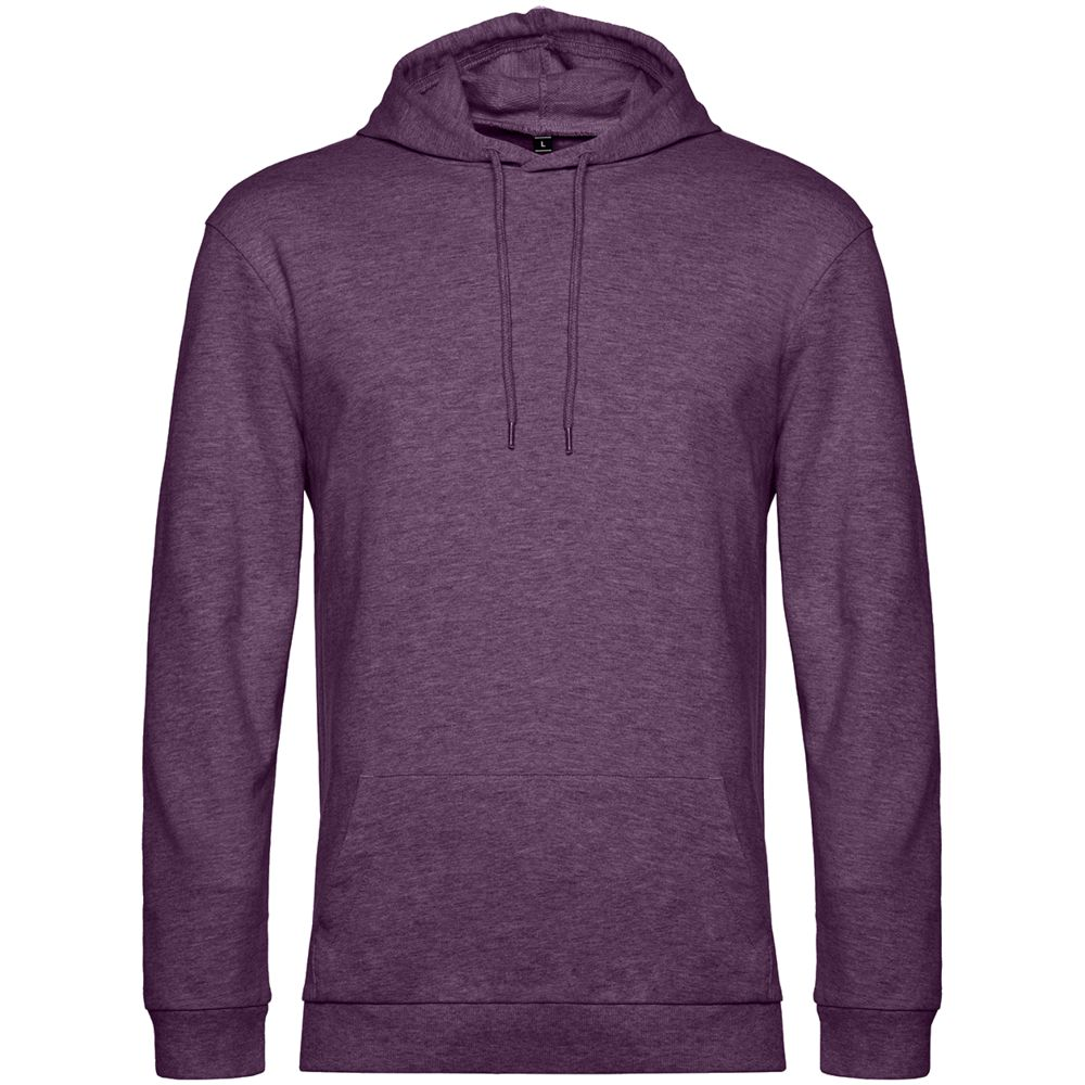 Толстовка с капюшоном унисекс Hoodie, фиолетовый меланж