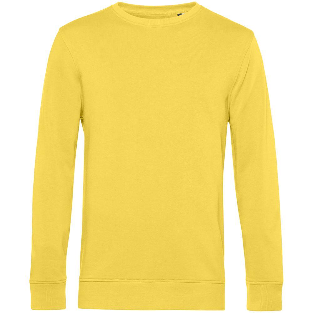 Свитшот унисекс BNC Organic, желтый