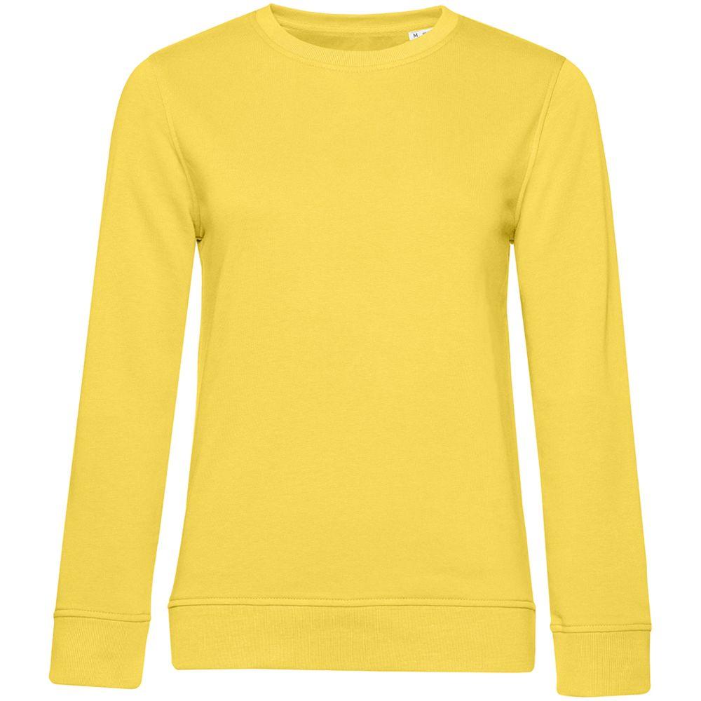 Свитшот женский BNC Organic, желтый