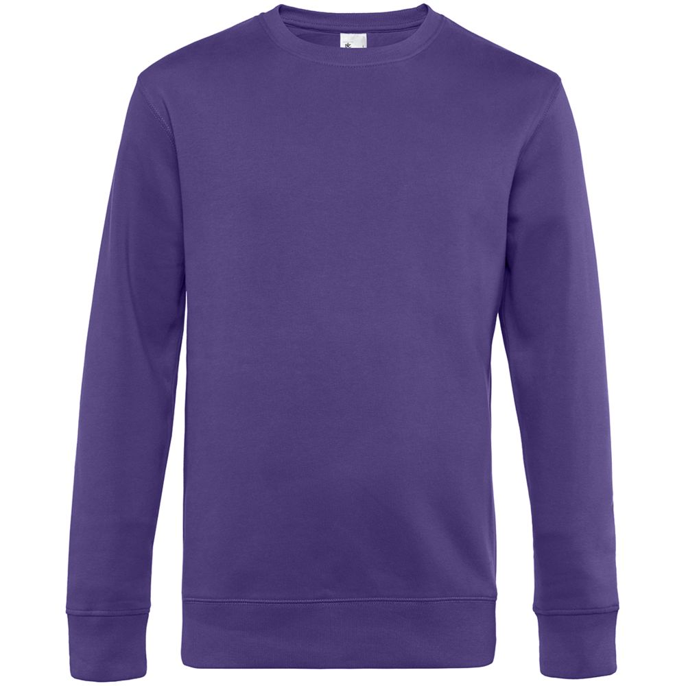 Свитшот унисекс King, фиолетовый