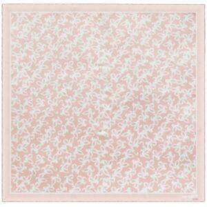 Платок Hirondelle Silk, розовый