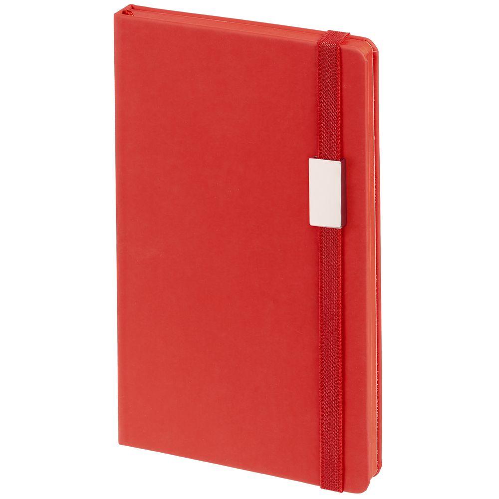 Блокнот Shall Direct, красный