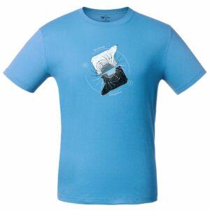 Футболка «Полярные медведи», голубая