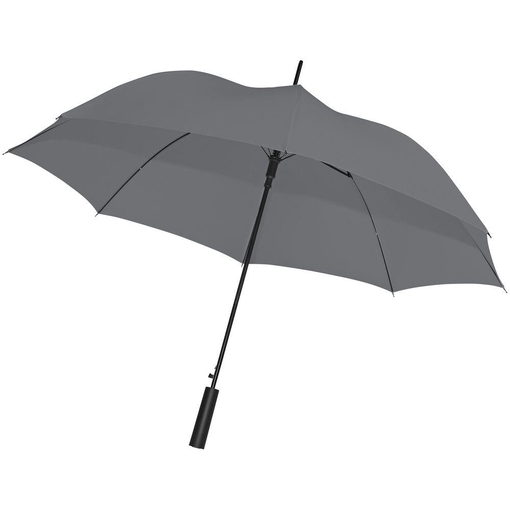 Зонт-трость Dublin, серый