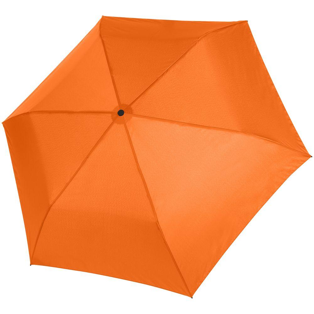 Зонт складной Zero 99, оранжевый