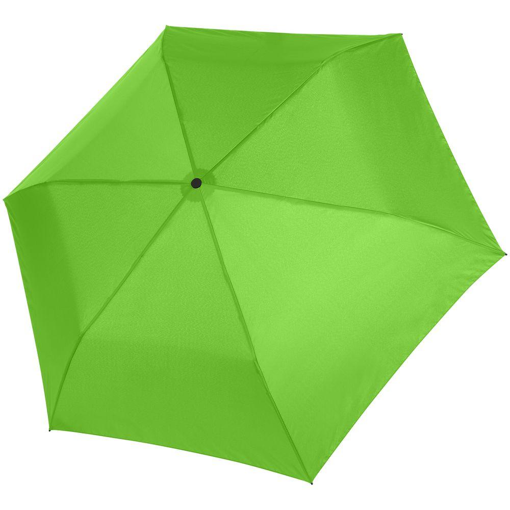 Зонт складной Zero 99, зеленый
