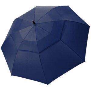 Зонт-трость Fiber Golf Air, темно-синий