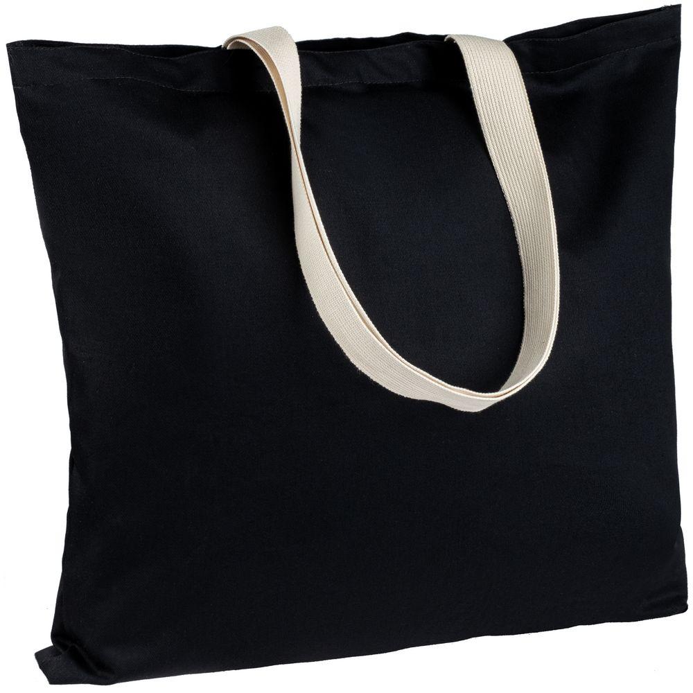Холщовая сумка Shelty, черная