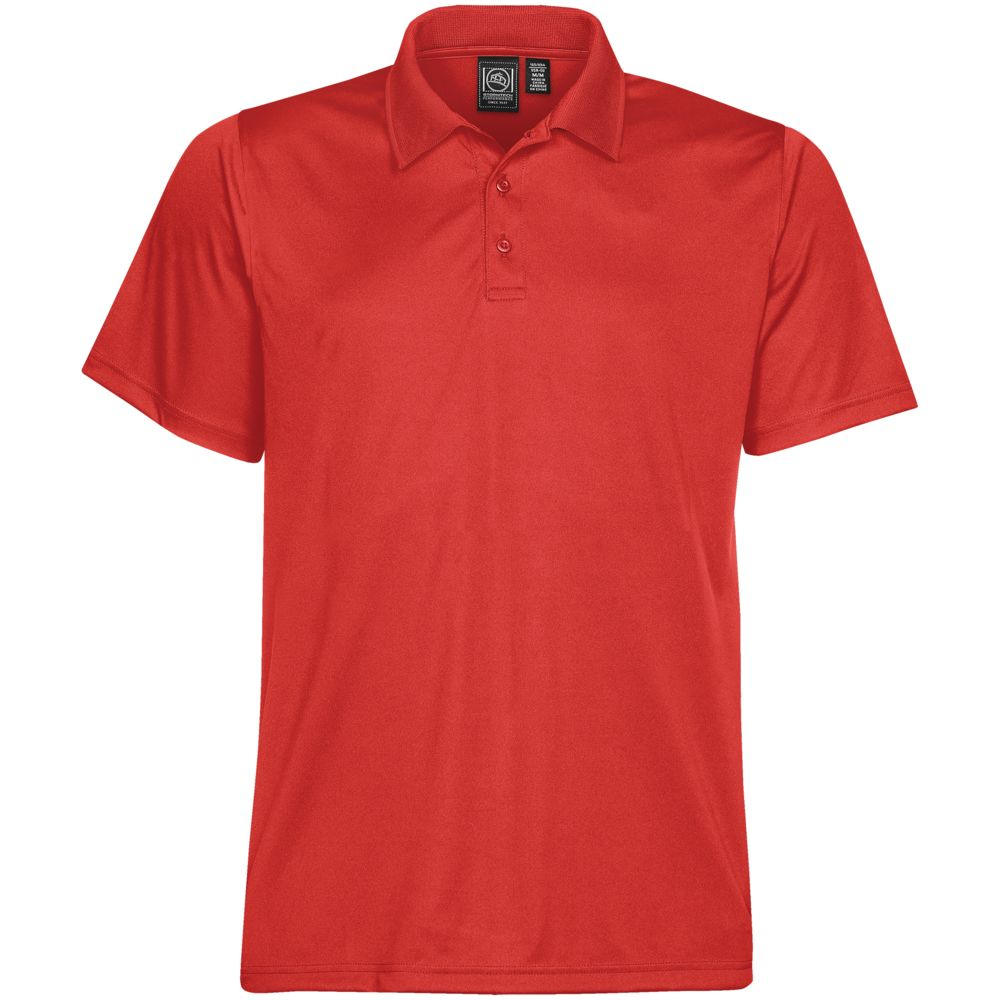 Рубашка поло мужская Eclipse H2X-Dry, красная