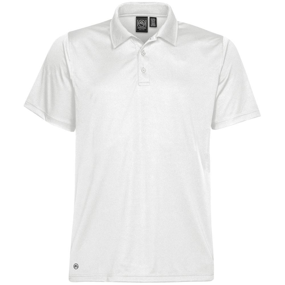 Рубашка поло мужская Eclipse H2X-Dry, белая